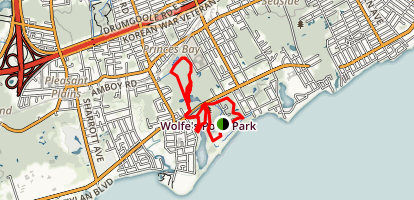 Wolfes Pond Park Trail Map
