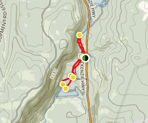 Koosah and Sahalie Falls Trail Map