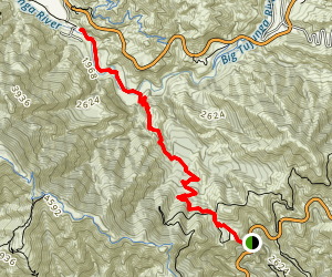 Grizzly Flat Trail Map