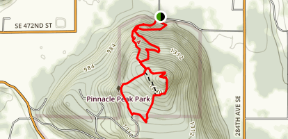 Pinnacle Peak Loop Trail Map