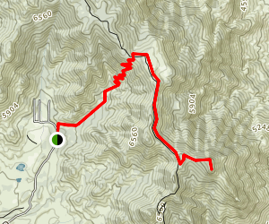 Pyramid Peak Trail Map