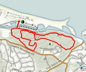 Sunken Meadow Trail Map