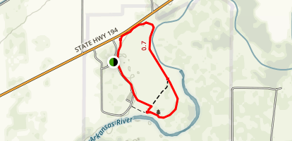 Bent's Old Fort National Historic Site Trail Map