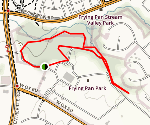 Frying Pan Park Trail Map