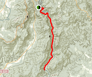 Linville Gorge Trail (Linville River Trail) Map