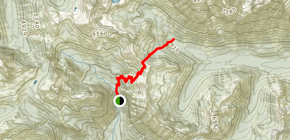 Longs Pass Trail Map
