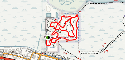 Bedwell Bayfront Park Trail Map