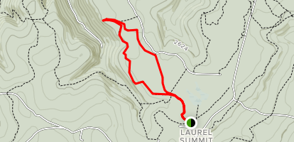 Wolf Rocks Trail Map