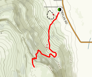 Lower Table Rock Trail Map