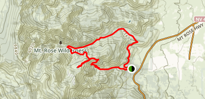 Jones and Whites Creek Trail Map