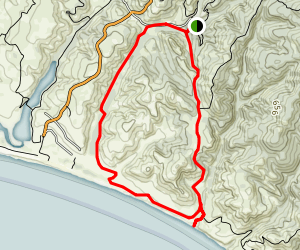 Coast Camp/Laguna Loop Map