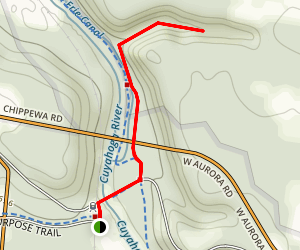 Twin Sister Falls Trail Map