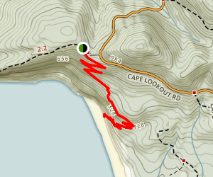 South Trail Map