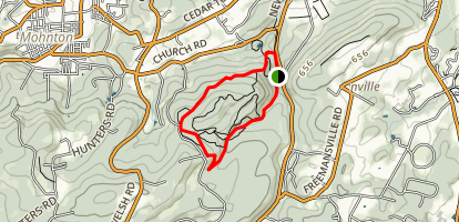 Nolde Forest Trail Map