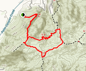Berns Trail Map