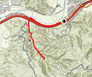 Coal Canyon Trail Map