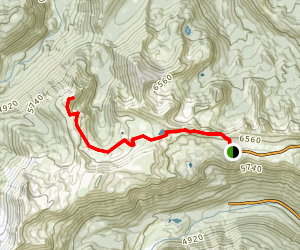 Skyscraper Mountain Trail Map