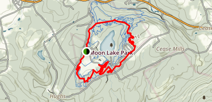 Moon Lake Trails Map