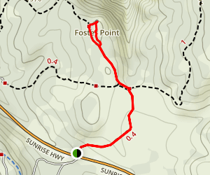 Foster Point Trail Map