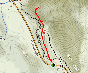 Oasis Spring Trail Map