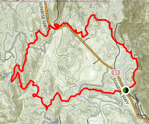 Pine Mountain Loop Map