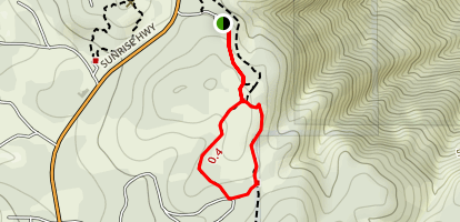 Desert View Interpretive Trail Map