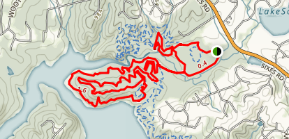 Blankets Creek Trail Map