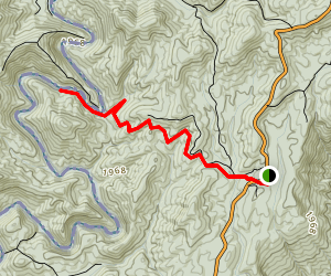 Big Bend Falls Trail Map