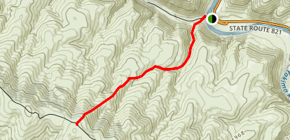 Umtanum Canyon Trail Map