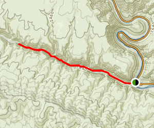 Umtanum Creek Trail Map