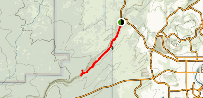 Tumalo Creek Trail Map