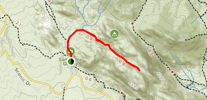 Calico Tanks Trail Map
