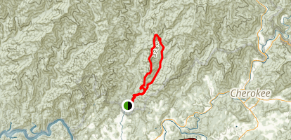 Indian Creek and Sunkota Ridge Trail Map