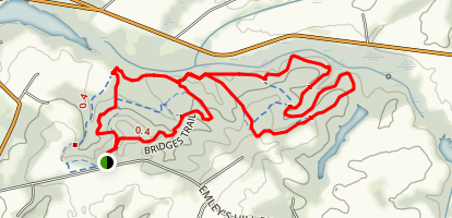 Doctor's Creek and Old Forge Trail Map