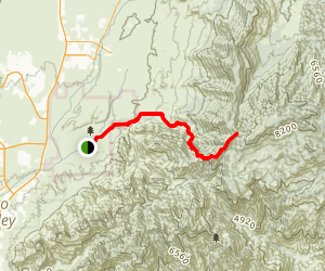 Sutherland Trail Map