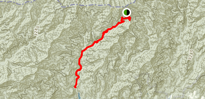 Forney Creek Trail Map