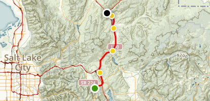Union Pacific Rail Trail Map