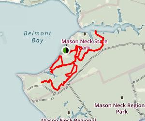 Mason Neck National Wildlife Refuge Trails Map