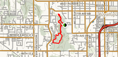 Clark's Creek Trail  Map