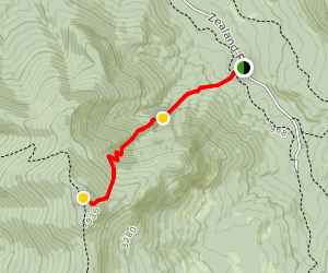 Mount Hale via Hale Brook Trail Map