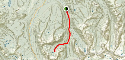 Kermsuh Lake Trail Map