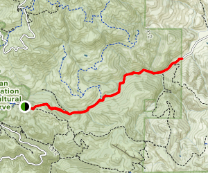 Curry Canyon Trail Map
