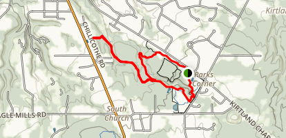 Penitentiary Glen Connector Trail Map