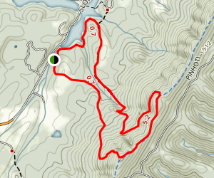 Pinhoti South Trail Map