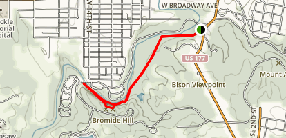 Bromide Hill Trail Map