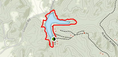 Saddle Lake Loop Map