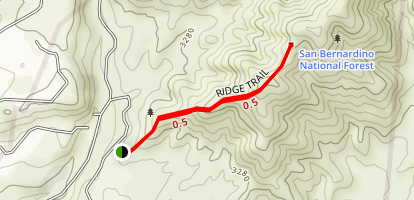 Bogart Park Ridge Trail Map