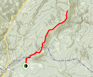 Lee Ridge Trail Map