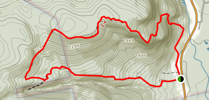 Arethusa Falls and Frankenstein Cliff Trail Map
