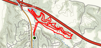 Slaughter Pen Hollow Trail Map